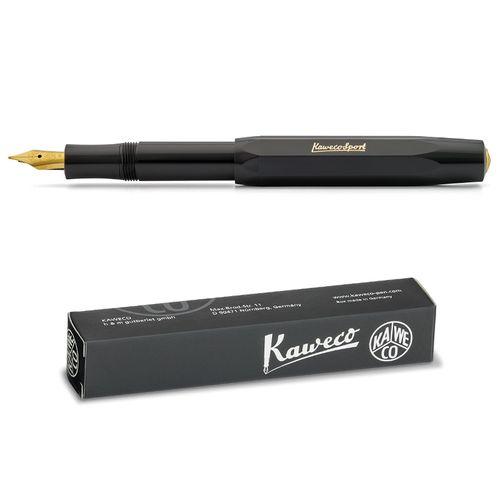 Kaweco Sport Classic Fountainpen black EF (extra fine)