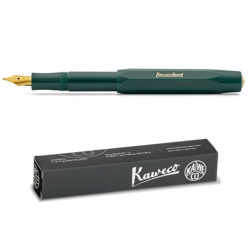 Kaweco Sport Classic Fountainpen green F (fine)