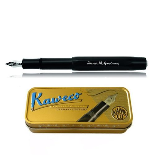 Kaweco AL Sport fountain pen black Pen Nib: M (medium) – image 1