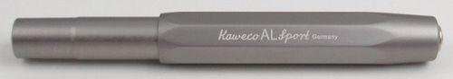 Kaweco AL Sport fountain pen grey Pen Nib: B (bold) – image 4