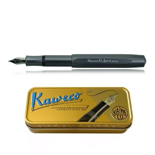 Kaweco AL Sport fountain pen grey Pen Nib: BB (extra bold) – image 1