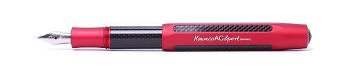 Kaweco Sport AC Füllhalter Rot Carbon B (Breit) – Bild 2