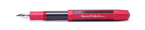 Kaweco Sport AC Füllhalter Rot Carbon BB (Extra Breit) – Bild 2