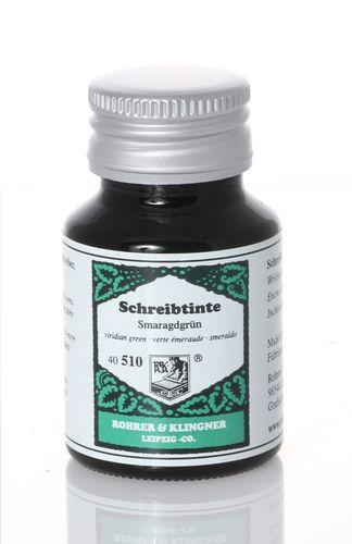 Rohrer&Klingner Ink Smaragdgrün 50ml – image 1