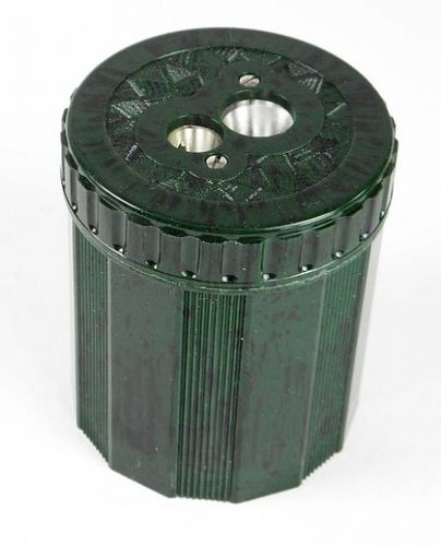 Pencil Sharpener, DUX 2-Hole, Green Marble, DX9249