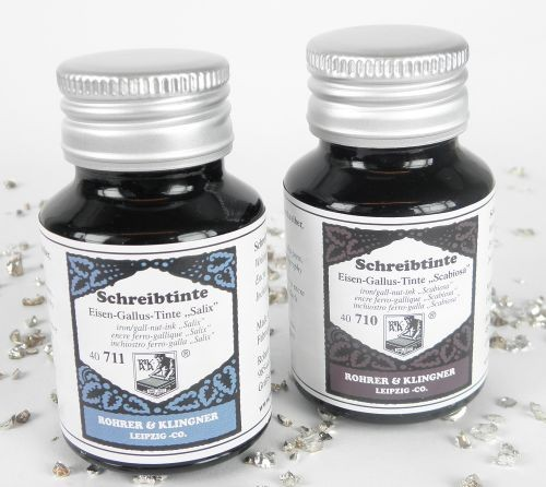Rohrer&Klingner Writing Kit Leipzig with Ink Bottles, Set 4 – image 3
