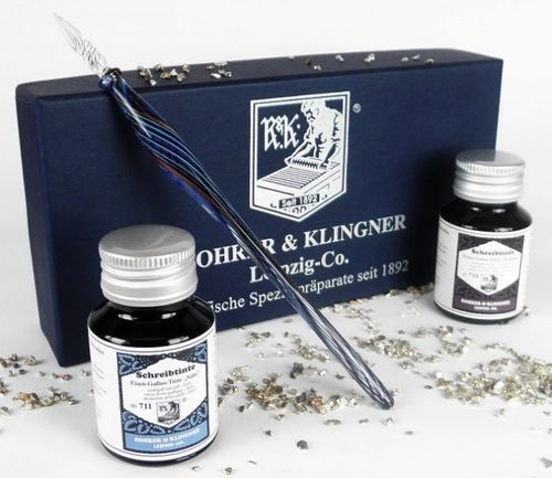 Rohrer&Klingner Writing Kit Leipzig with Ink Bottles, Set 2 – image 1