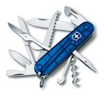 Victorinox Huntsman transparent blue 1.3713.T2