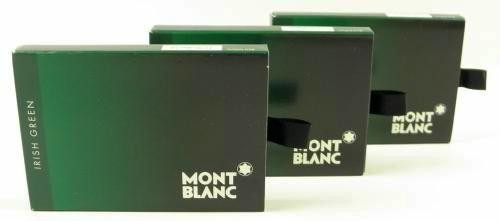 Montblanc 24 Ink Cartridges Irish Green