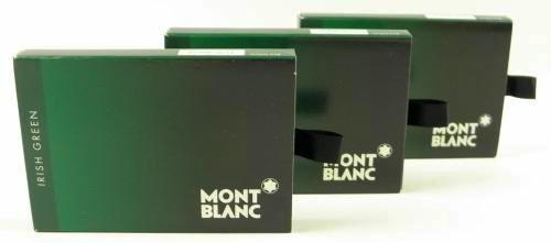 Montblanc Tintenpatronen Irish Green (24 Stück)