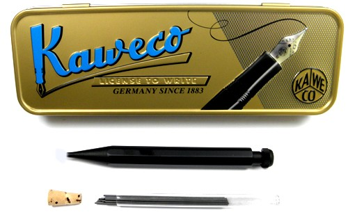 Kaweco Mini SPECIAL Mechanical Pencil black 0,9mm + 12 Refills