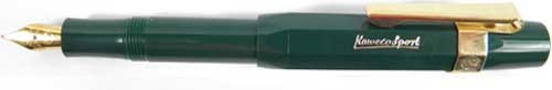 Gift Set Kaweco Sport Classic Fountainpen green BB set incl. clip and cartridges – image 2