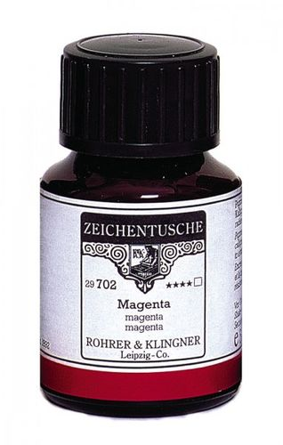 Rohrer & Klingner Drawing Indian Ink Magenta 50 ml