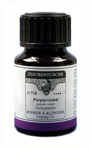 Rohrer & Klingner Drawing Indian Ink Purple Violet 50 ml