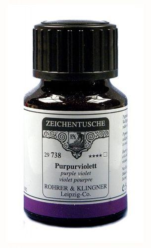 Rohrer & Klingner Zeichentusche Purpurviolett 50 ml