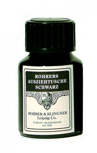 Rohrer & Klingner Indian Ink Black 50 ml