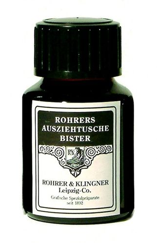 Rohrer & Klingner Drawing Indian Ink Bistre 50 ml