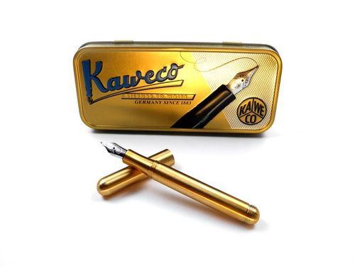 Kaweco Liliput fountain pen brass Nib: M (medium) – image 1