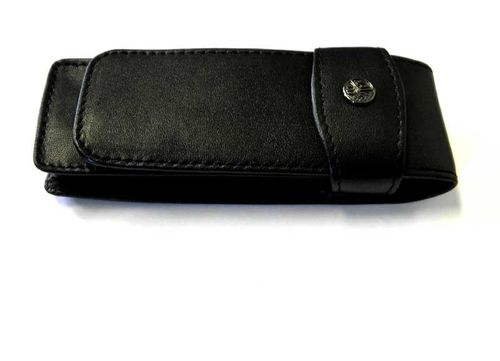 Kaweco 2 pcs flap case, leather black for dia series