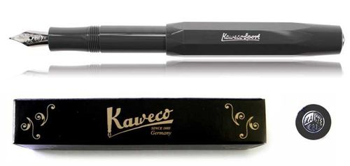 Kaweco Sport Skyline Fountainpen grey BB (extra bold) – image 1