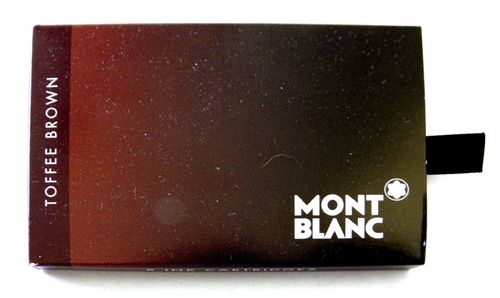 Montblanc Ink Cartridges Toffee Brown 8 per package