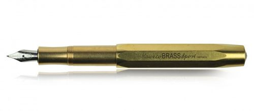 Kaweco Sport Fountain Pen Brass Nib: BB – image 2