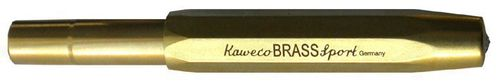 Kaweco Sport Fountain Pen Brass with golden Nib: B – image 3