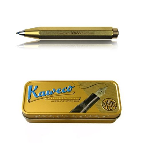 Kaweco Sport BRASS Kugelschreiber Messing  – Bild 1