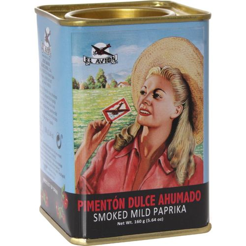 Sweet paprika, smoked 160 g - El Avion