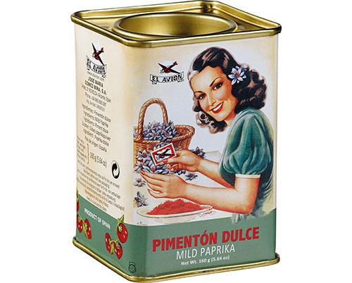 Sweet paprika 160 g – El Avion
