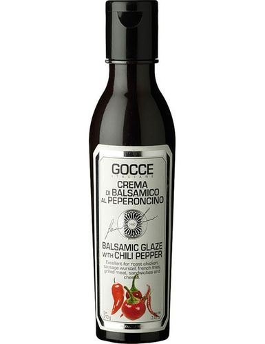 Balsamic Glaze with chili pepper 210 g – Gocce
