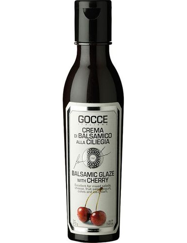 Balsamic Glaze with cherry 210 g – Gocce