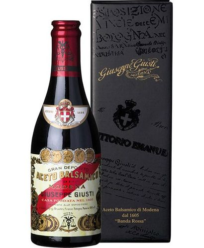 Balsamic vinegar 'Banda Rossa' Riserva, 20 years old, 250 ml – Giusti