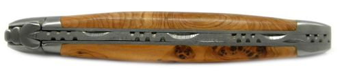 Laguiole en Aubrac Pocket knife, Juniper handle, Sandvik steel L0212GEI – image 2