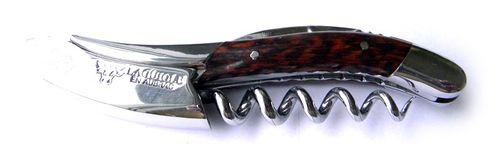 Laguiole en Aubrac Sommelier Knife, Amourette Wood Handle SOM99AMI – image 2