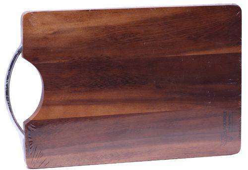 Laguiole en Aubrac Cutting Board, Metal Handle, Acacia Wood PLAINDEC – image 1