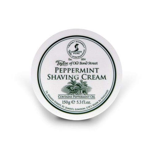Shaving Cream Peppermint, 150g - Taylor of Old Bond Street