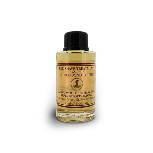 Sandalwood Pre Shave Oil, 30ml - Taylor of Old Bond Street – image 1