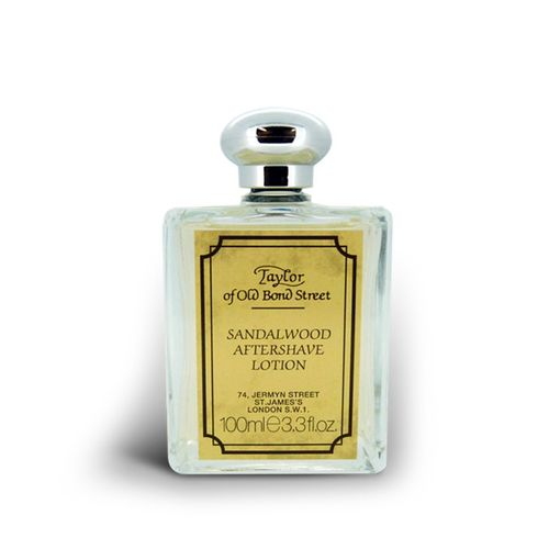 Sandalwood Aftershave Lotion, 100ml - Taylor of Old Bond Street