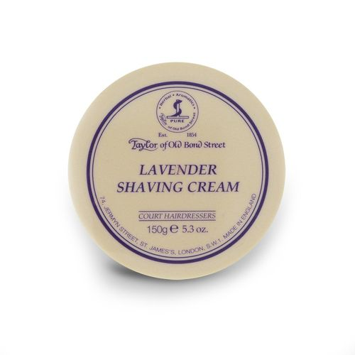 Shaving Cream Lavender, 150g - Taylor of Old Bond Street – image 1