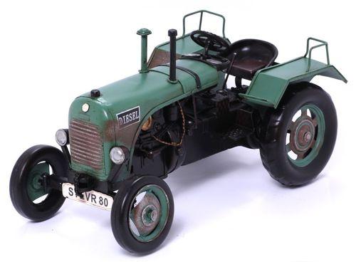 Modellauto - Traktor Steyer 80 - Retro Blechmodell – Bild 2