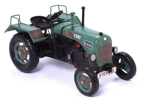Model Car - Tractor Steyer 80 - Retro Tin Model – image 1