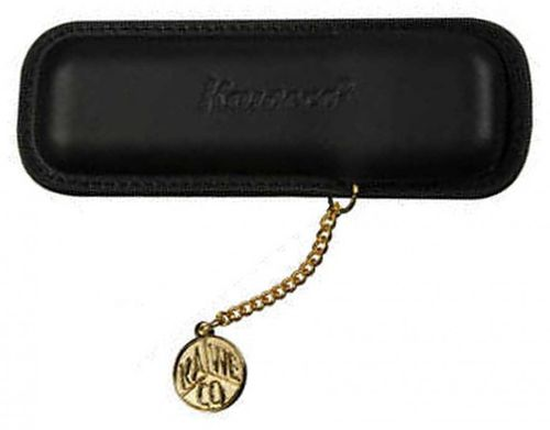 Kaweco leather case with pendant for sport series black – image 1