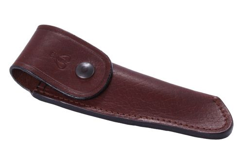 Laguiole Artisanat Francais Leather Etui, EPP, Brown