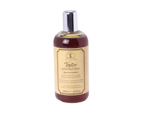 Taylor of Old Bond Street - Hair & Body Shampoo Sandalwood 200 ml