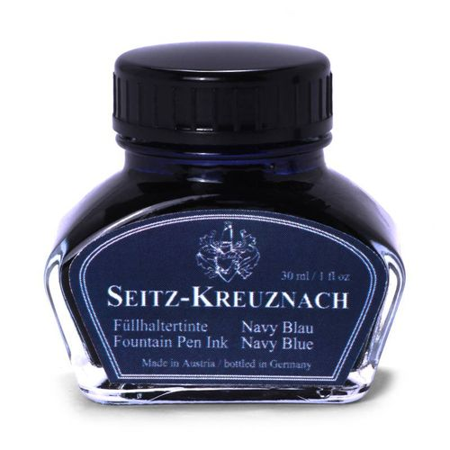 Seitz-Kreuznach Fountain pen ink Navy Blue, 1 fl oz, Colors of Nature – image 1