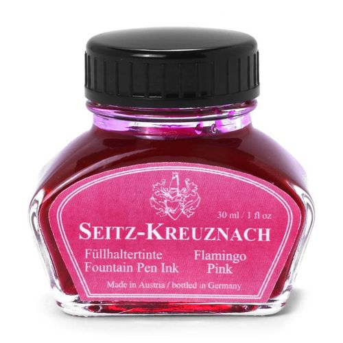 Seitz-Kreuznach Fountain pen ink Flamingo Pink, 1 fl oz, Colors of Nature – image 1