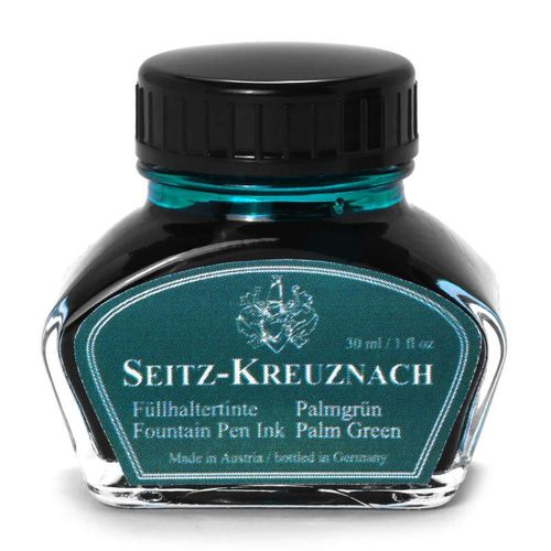 Seitz-Kreuznach Fountain pen ink Palm Green, 1 fl oz, Colors of Nature – image 1