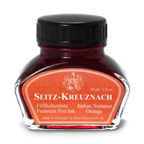 Seitz-Kreuznach Tinte Indian Summer Orange, 30ml, Colors of Nature – Bild 1