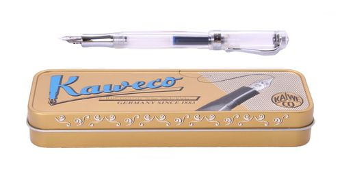 Kaweco STUDENT Fountain Pen Transparent Nib: BB (extra bold) – image 1